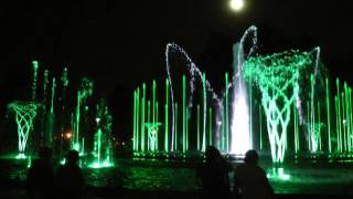 "Budapest Margaret Island Musical Fountain - ""Michael Bublé   Feeling Good"""