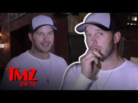 Chris Pratt Talks About Anna Faris!   TMZ TV