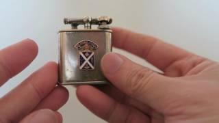 Restored 1932 Antique Lift-Arm Cigarette Lighter