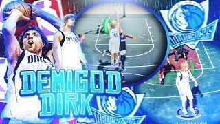 The Ultimate DIRK NOWITZKI Build In NBA 2K19! 7ft DEMIGOD BEST CUSTOM JUMPSHOT NBA 2K19!