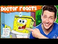 Doctor Reacts To Nickelodeon Medical Scenes