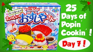 Making Candy Sushi! Day 7 of the 25 Days of Popin Cookin- Sorry So Late Today!