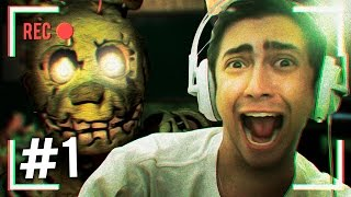 O MAIS ASSUSTADOR! - FIVE NIGHTS AT FREDDY'S 3 - Parte 1