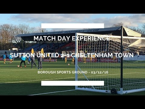 Groundhop at The Borough Sports Ground - Sutton United vs. Cheltenham Town - A CUPSET!