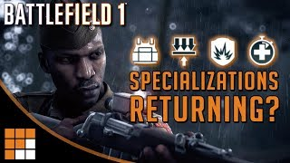 Specializations Coming to Battlefield 1: Deeper Progression System Promised