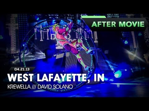 Life in Color - Rebirth Tour - West Lafayette, IN - 04/21/2013 - Feat. Krewella & David Solano