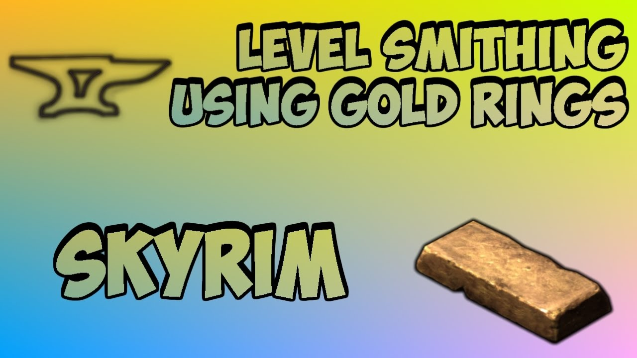 Skyrim the 100 fastest way to get smithing to 100