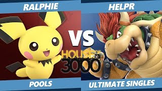 Smash Ultimate Tournament - Ralphie (Pichu) Vs. HelpR (Bowser) Xeno 149 SSBU Pools