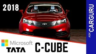 C CUBE, Tata C-Cube, CARGURU, हिन्दी में, Microsoft, Next trump Card from Tata, All details
