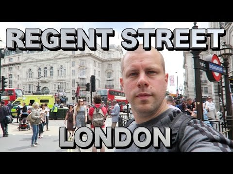 Regent Street London + Transport for London Summer Streets TFL