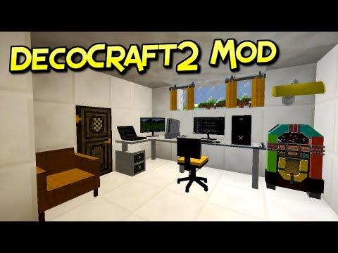 DecoCraft2 Mod | Instalando DecoCraft2 Con 50 Mods | Minecraft 1.12.2 – 1.7.10| Tutorial En Español