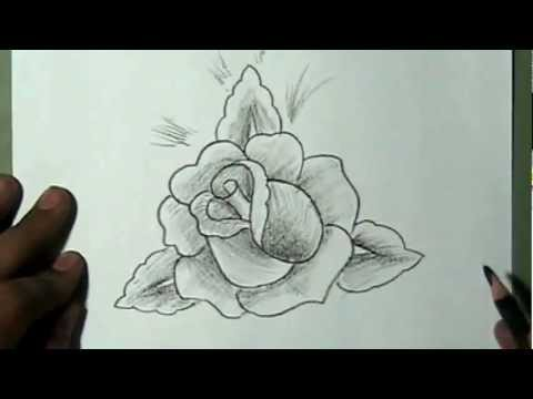 Big Roses Drawings How to Draw a Beautiful Rose