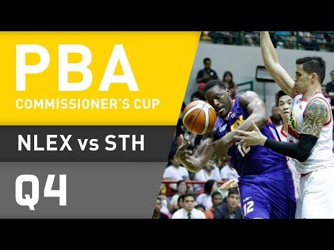 NLEX VS. STAR - Q4 | Commissioner's Cup 2016