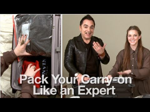 How to Pack Your Carry-on Like An Expert!