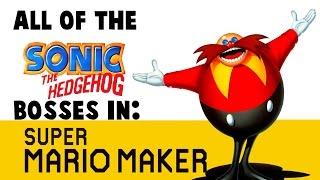 All Sonic 1 bosses in Super Mario Maker! (Ep 4)
