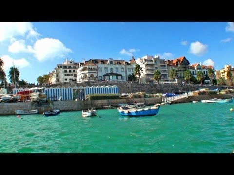 ESTORIL - Portugal / Turismo por Cascais, Sintra, Pal�cio da Pena, Cabo da Roca, Estoril turismo HD