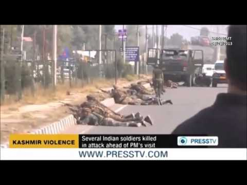 KASHMIR:  At least 8 Índian soldiers killed in attack ahead of PM´s visit