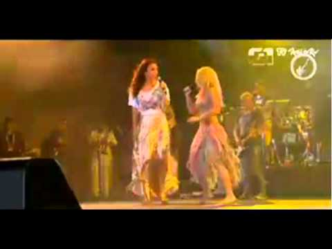 Shakira & Ivete Sangalo - Rock in Rio 2011 - País Tropical ♫ Music Videos
