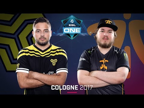 CS:GO - Space Soldiers vs. Fnatic [Mirage] - Swiss Round 4 - ESL One Cologne 2017