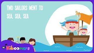 A Sailor Went to Sea | Kids Song | Nursery Rhyme | Lyrics | Toddler Songs