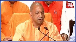 UP Would Develop Says Yogi Adityanath On 100 Days Of Government