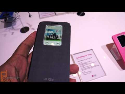 LG G2 Quick Window hands on: a smart flip case for your LG G2