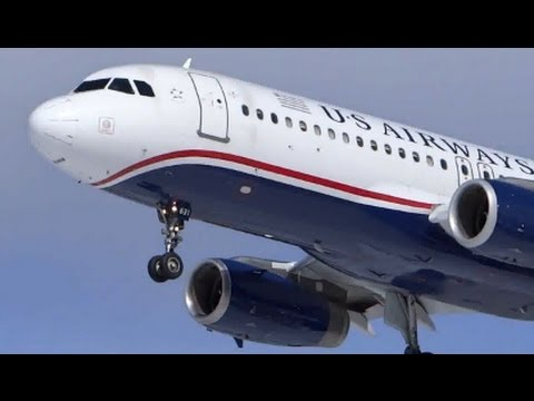 Plane Spotting Compilation #17: Chicago O'Hare Airport, US Airways, United, American Airlines
