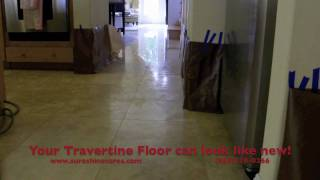 "Travertine Polishing in Newport Beach, CA - ""Travertine Polishing Newport Beach, CA"""