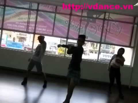 VDANCE Jazz Funk Practice by Nhat Anh