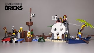 Lego Pirates 70411 Treasure Island  Paired with 70409 Shipwreck Defense Speed Build Review