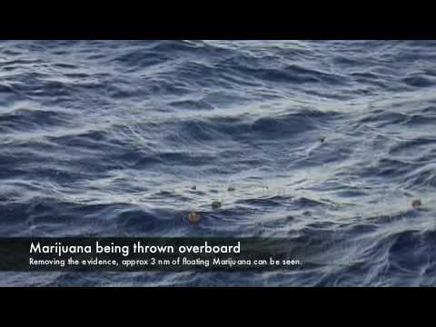 Drug & Human Smuggling rescue off Cuba