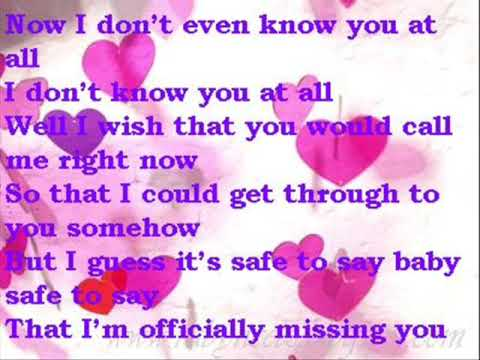 Mymp - Officially Missing You