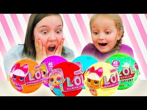 НОВЫЕ ЦВЕТНЫЕ ЛОЛ ⁉ ОРИГИНАЛ или Китайские ПОДДЕЛКИ Шарики с Куклами Fake LOL Dolls Surprise