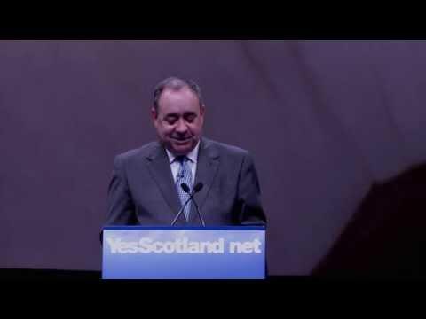 Alex Salmond's speech at the international press conference 11 Sept 2014
