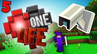 I'M BEING SPIED ON! Minecraft One Life SMP EP5