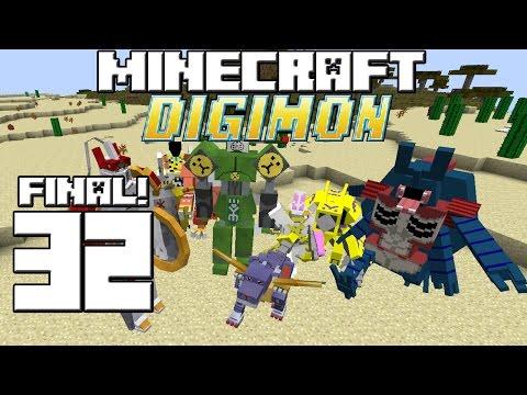Minecraft Serie Digimon! Capitulo 32! Final! video