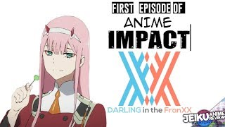 First Episode of Anime Impact Darling in the Franxx