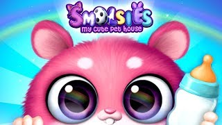 Fun New Born Baby Pet Care Kids Games - Smolsies - My Cute Pet House Game for Kids
