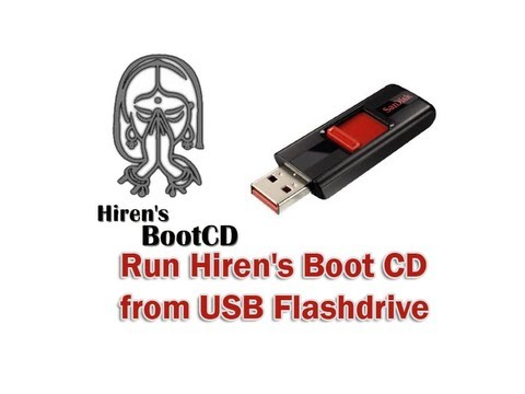 Run Hiren's Boot CD from USB Flashdrive by Britec