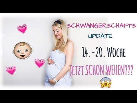 Verrückte Symptome, Sorgen,  Kindsbewegungen & ein kugelrunder Babybauch- SSW 14-20 | Annis Blog