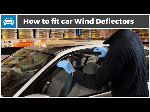 How to fit Wind Deflectors to Your Car - From MicksGarage