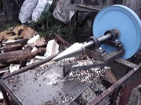 łuparka świder rębak do drewna