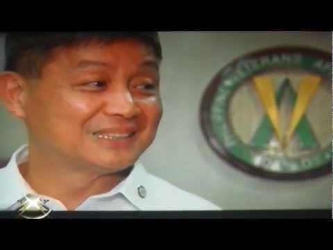 Ret.Lt.Gen.Ernesto Carolina of PVAO in ABS-CBN-XXX TV Show