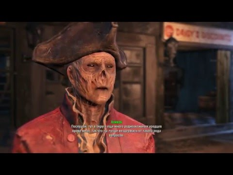 FallOut 4 Gameplay WalkthroughAtlantic Offices PC