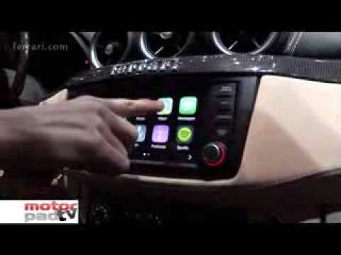 FERRARI FF e Apple Car Play - Motorpad TV