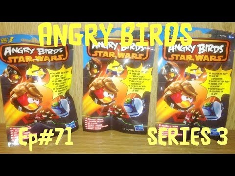 Blind Bag Mystery 071 Angry Birds Star Wars Series 3 Mini Figures By Jennifer Mulkerrin
