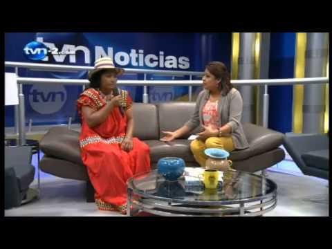 Entrevista a la Cacica Silvia Carrera por TVN-2