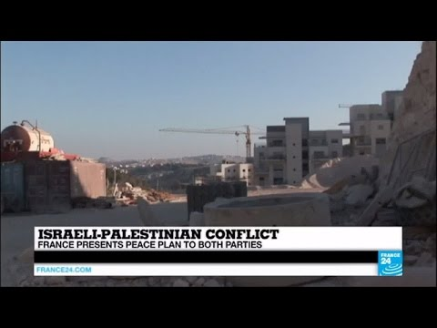 Israeli-Palestinian conflict: France presents peace plan to both parties