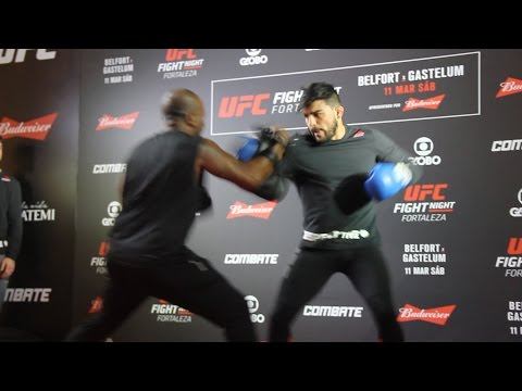 Kelvin Gastelum UFC Fight Night 106 Open Workout