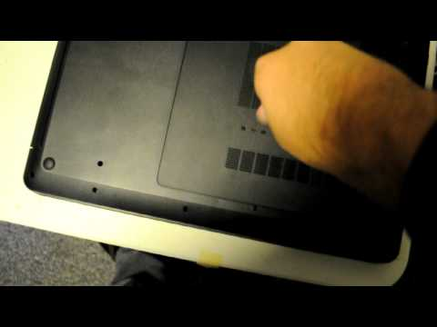 How to remove a Hard Drive from Laptop HP g7 1081nr